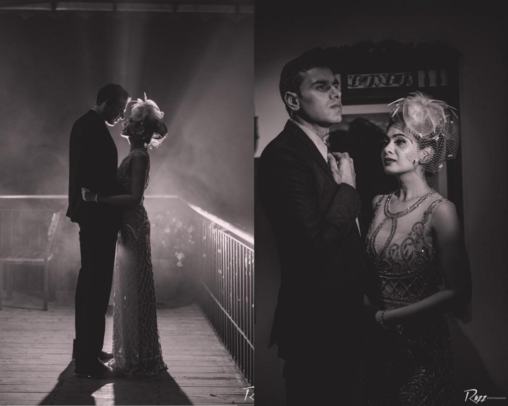 Black & White Pre Wedding Photography