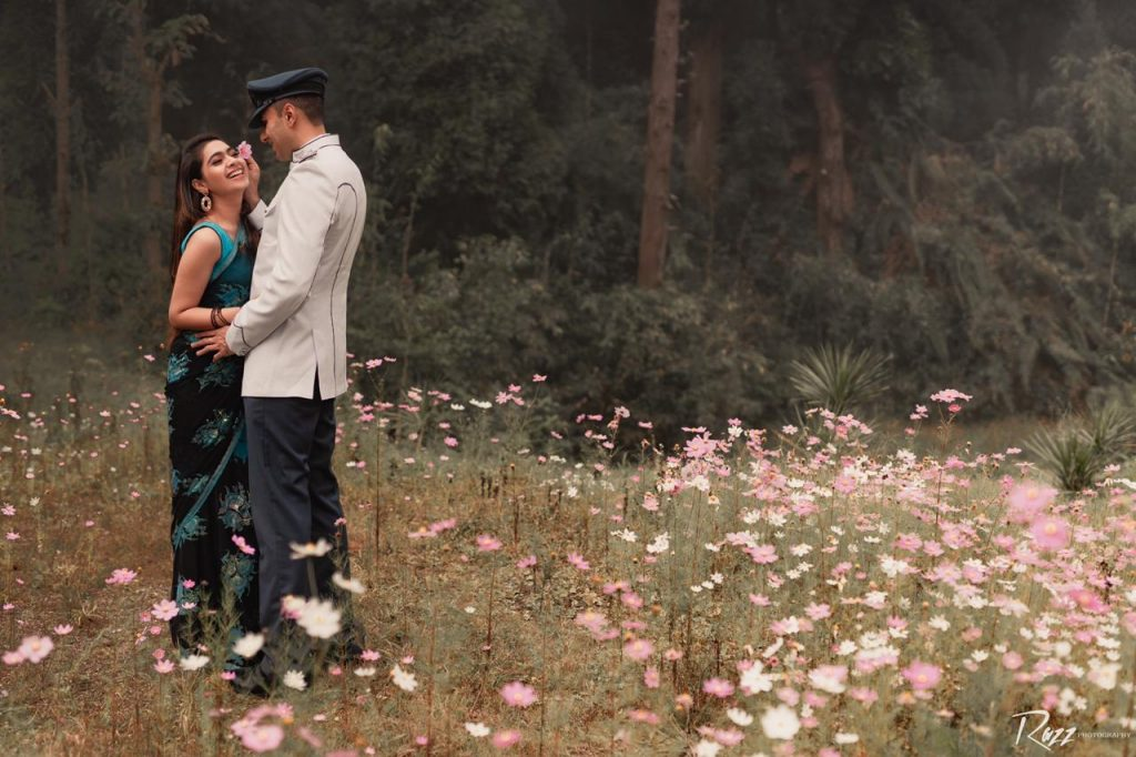Indian Air Force Officer Pre Wedding Shoot in Sikkim