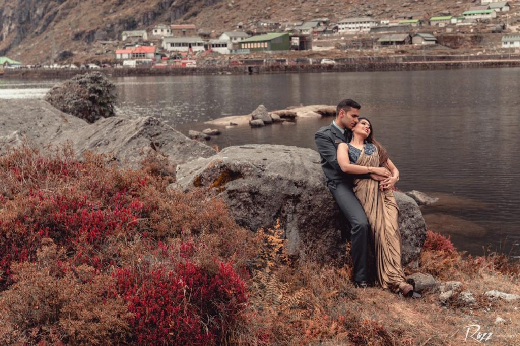 Lake Pre Wedding Shoot
