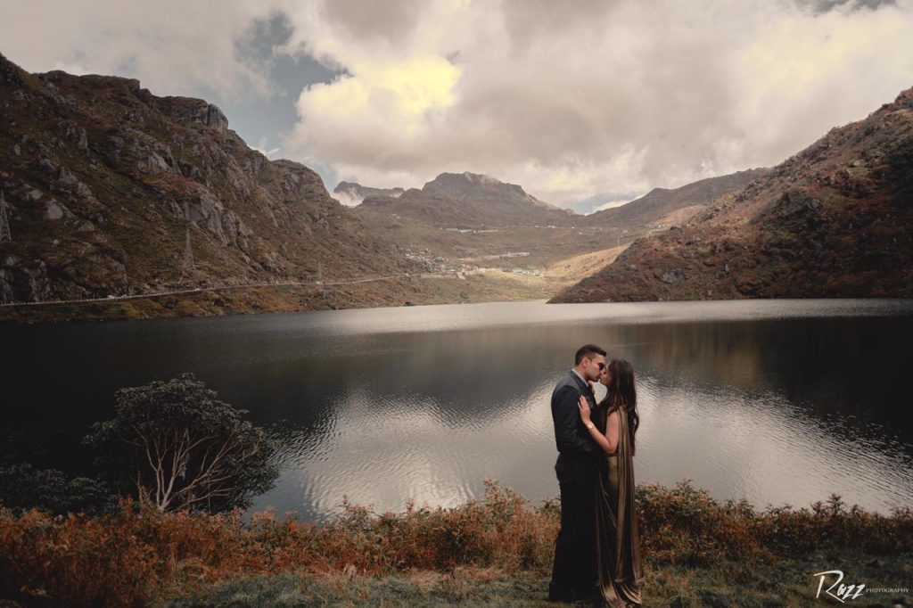 Romantic Pre Wedding Shoot in Sikkim