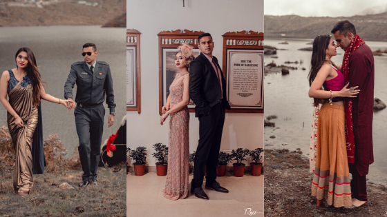 This Couple Had A Romantic Pre Wedding Shoot In Sikkim With 9 Beautiful Themes Wish N Wed