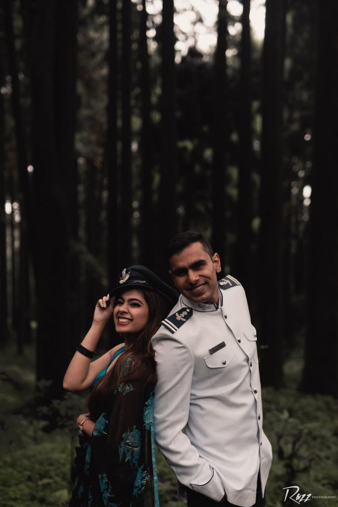 Pre Wedding Shoot of Indian Air Force Officer