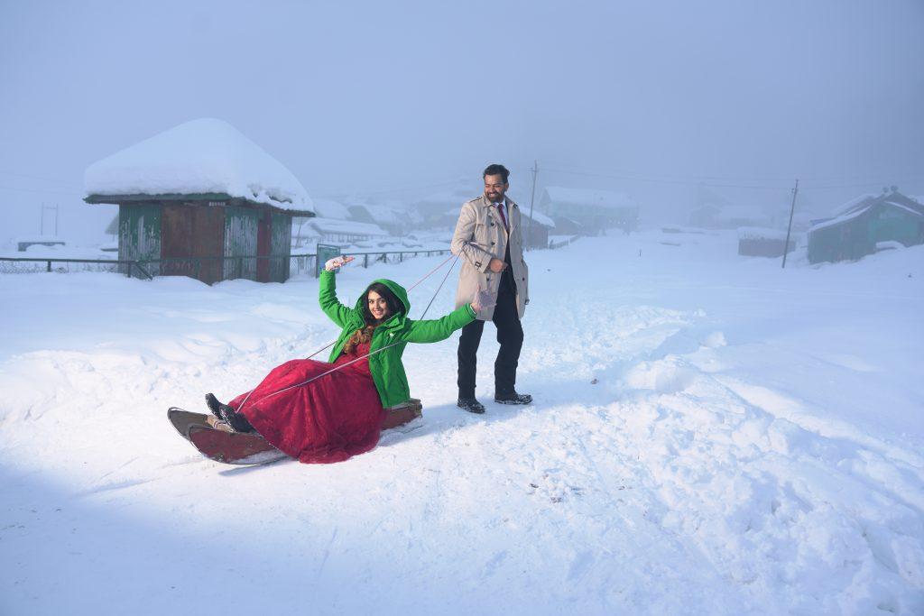 Pre-Wedding Shoot in Kashmir