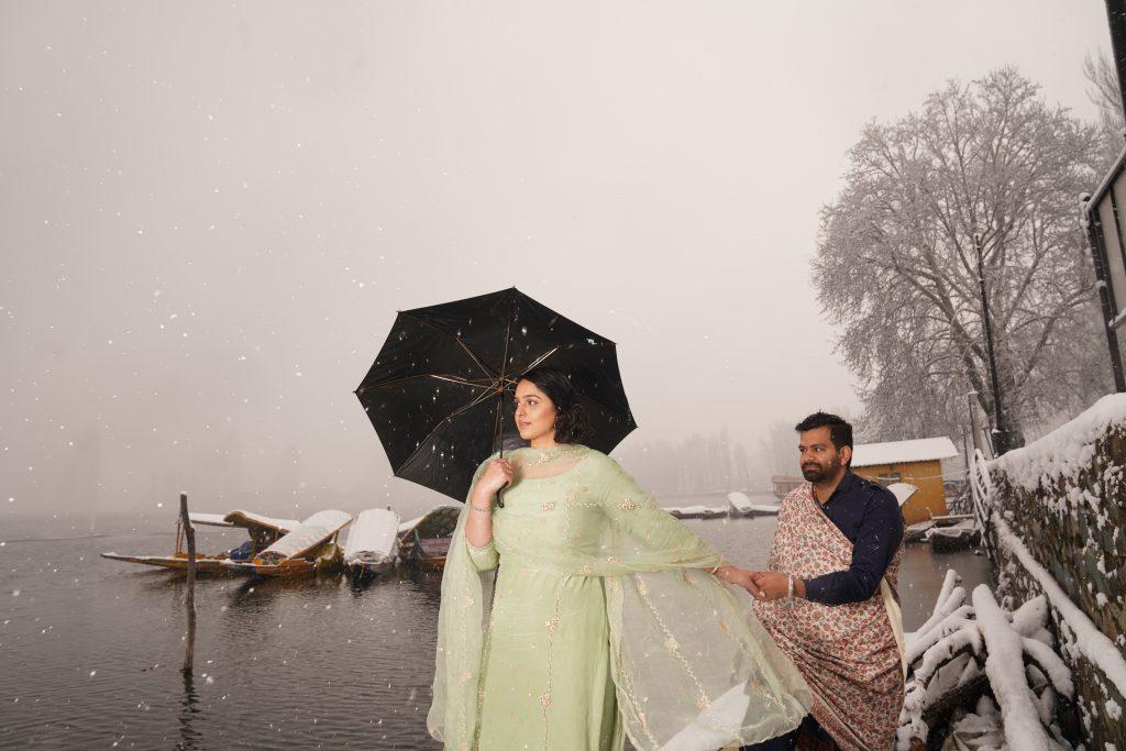 Pre-Wedding Shoot in Dal Lake