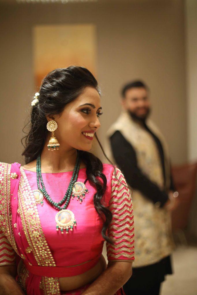 Sangeet Outfit of bride & groom