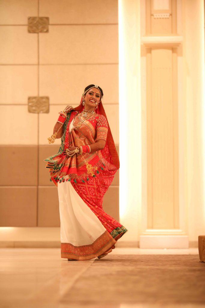 Gujarati Bride Wedding Dress