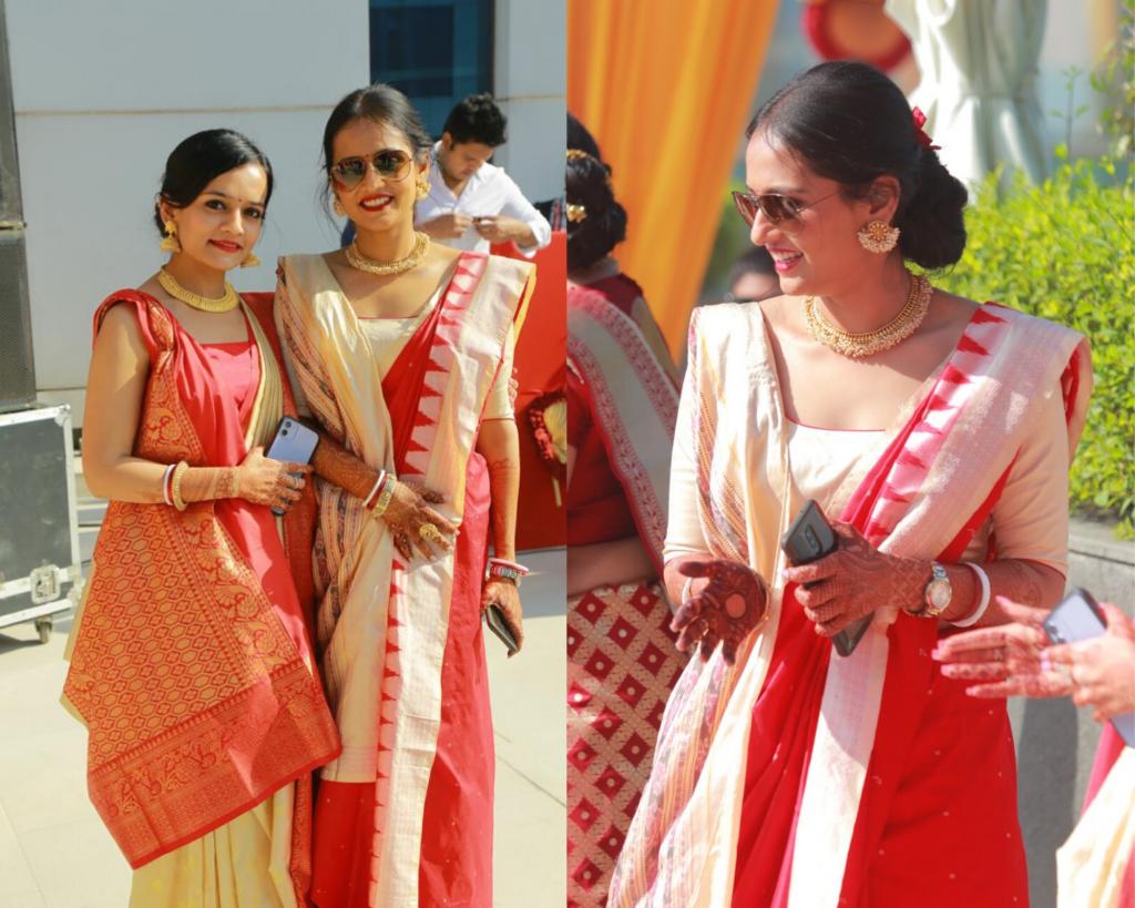 Kolkata bride wedding saree