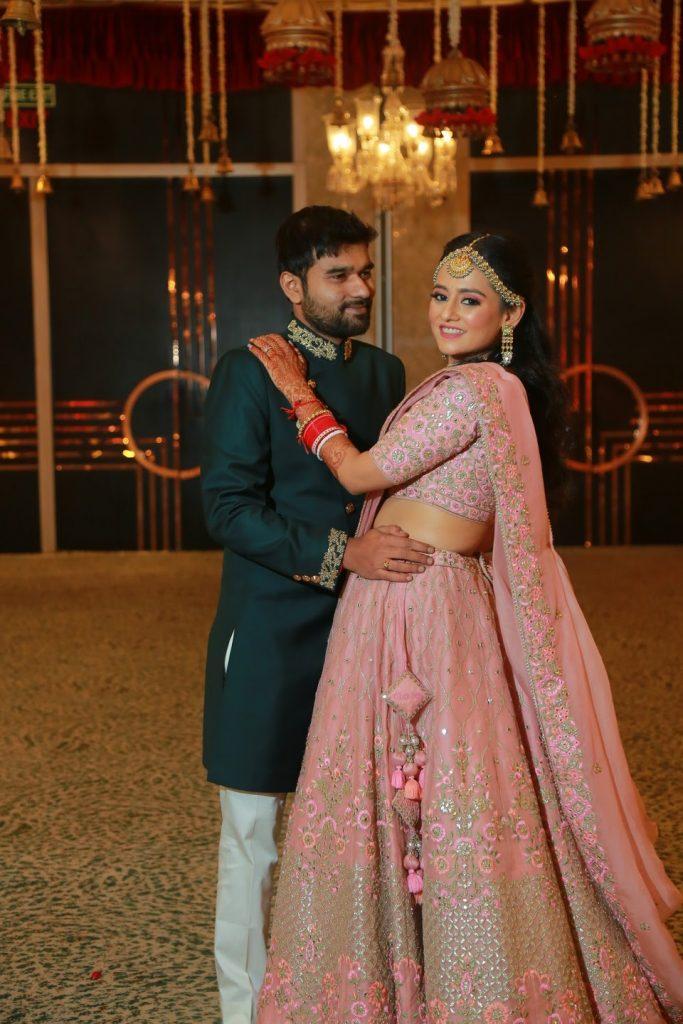 Indian bride & groom wedding