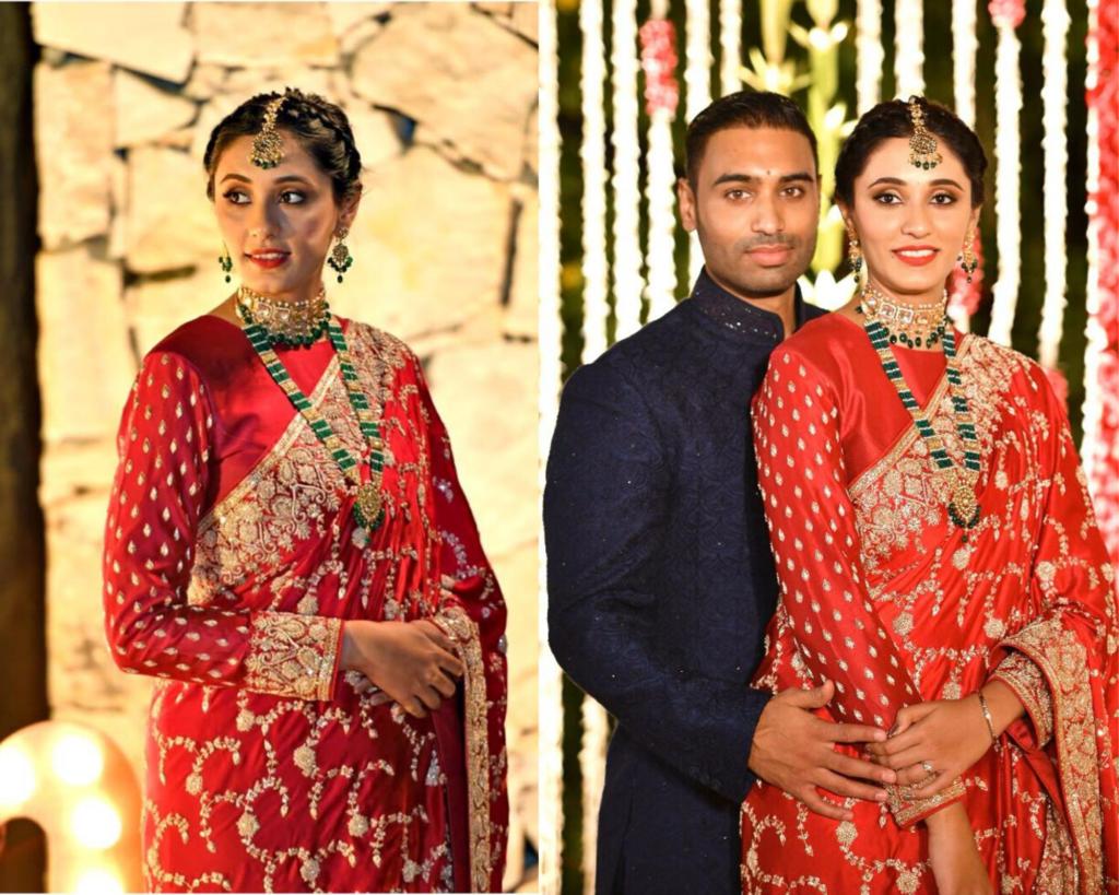 Indian Bride & Groom Pre-Wedding Engagement Shoot