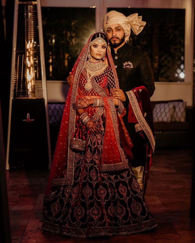 Sabyasachi bride & groom portraits