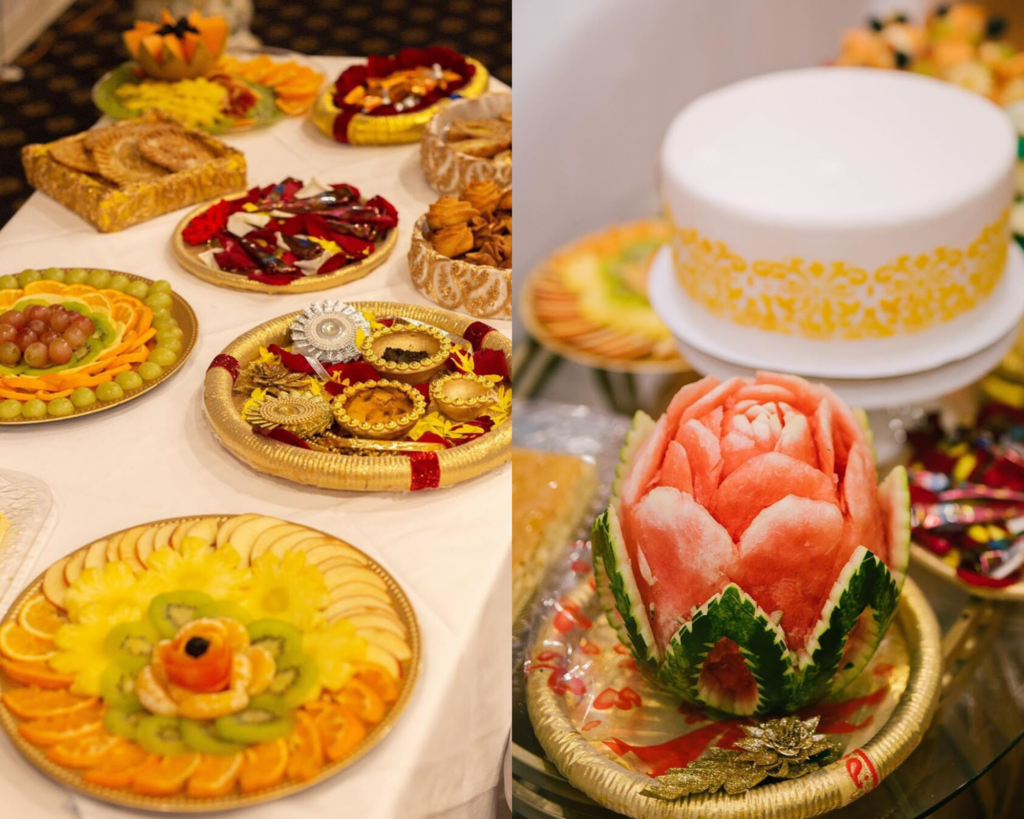 Food Items in Wedding