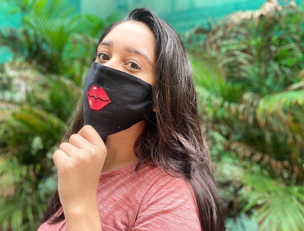 cool bridal mask
