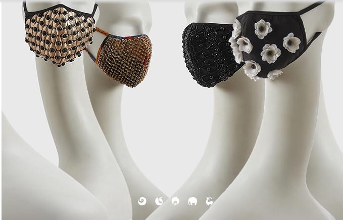 designer masks by Shivan and Narresh
