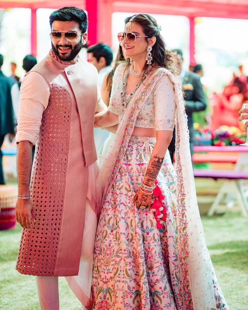 groom mehendi outfit