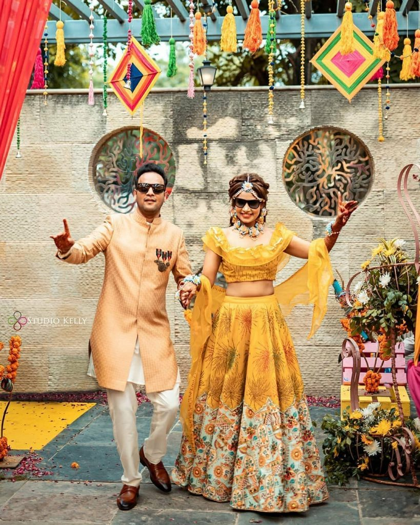 groom outfits for mehendi