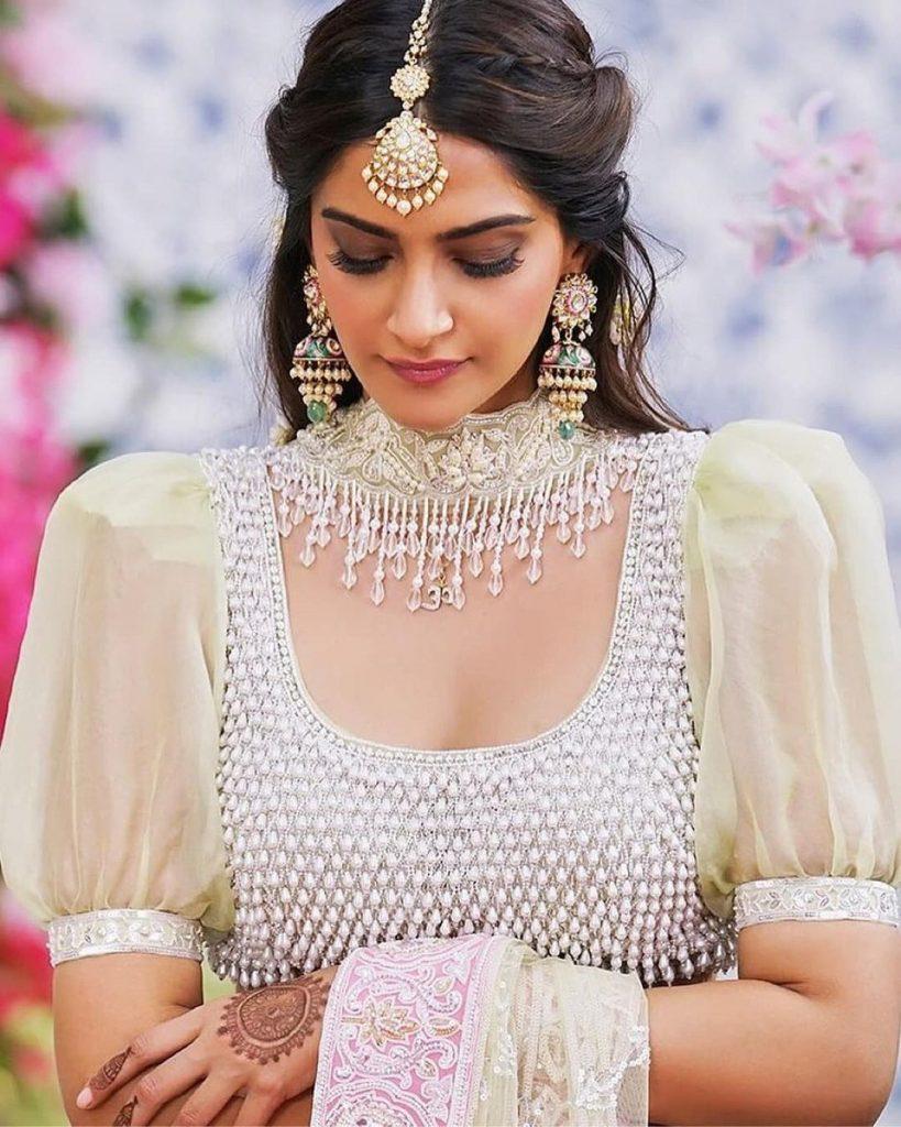 Sonam Kapoor blouse
