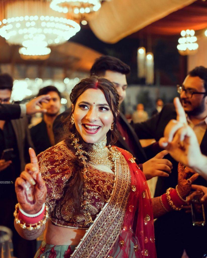 Ludhiana bride reception looks