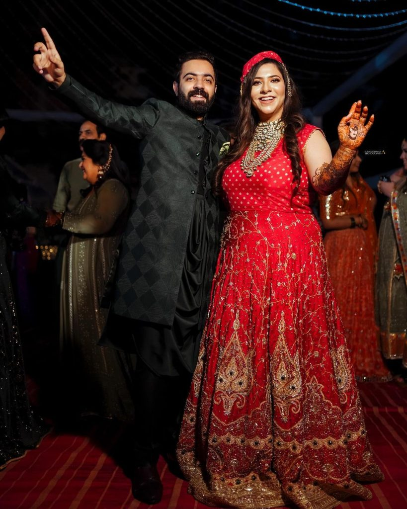 Ludhiana Bride & Groom for Sangeet Night