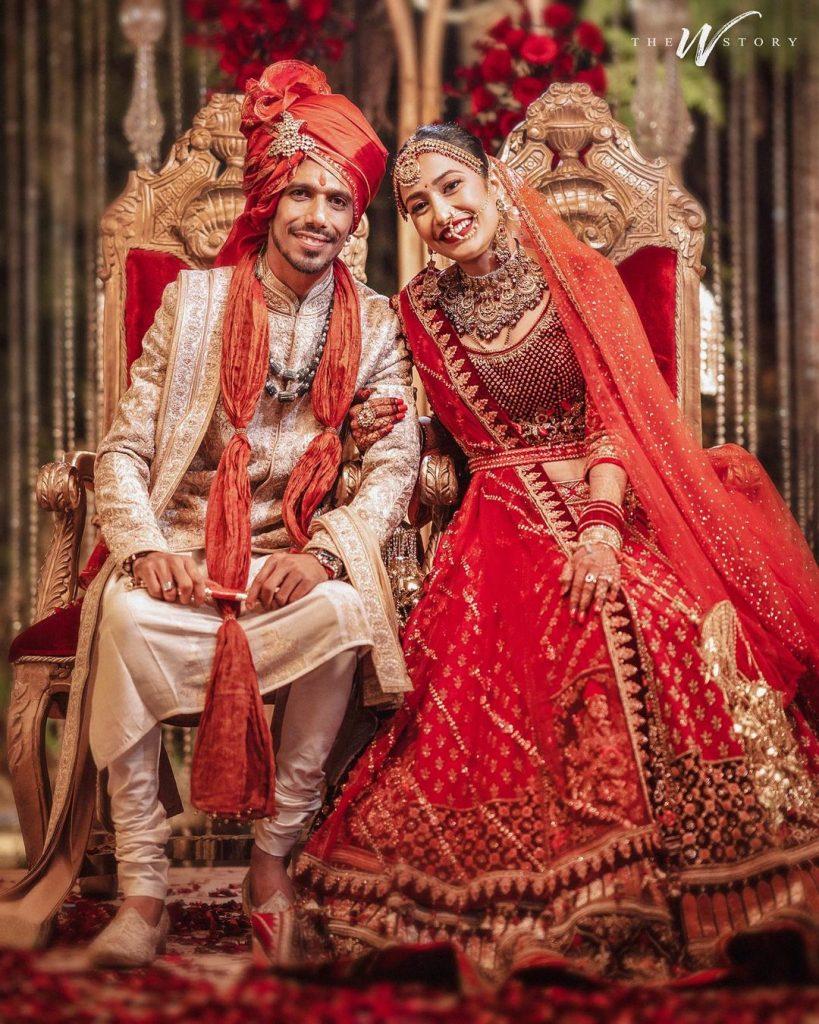 Yuzvendra Chahal & Dhanashree Verma wedding photos