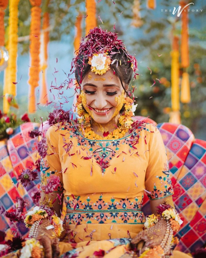 Dhanashree Verma Haldi ceremony