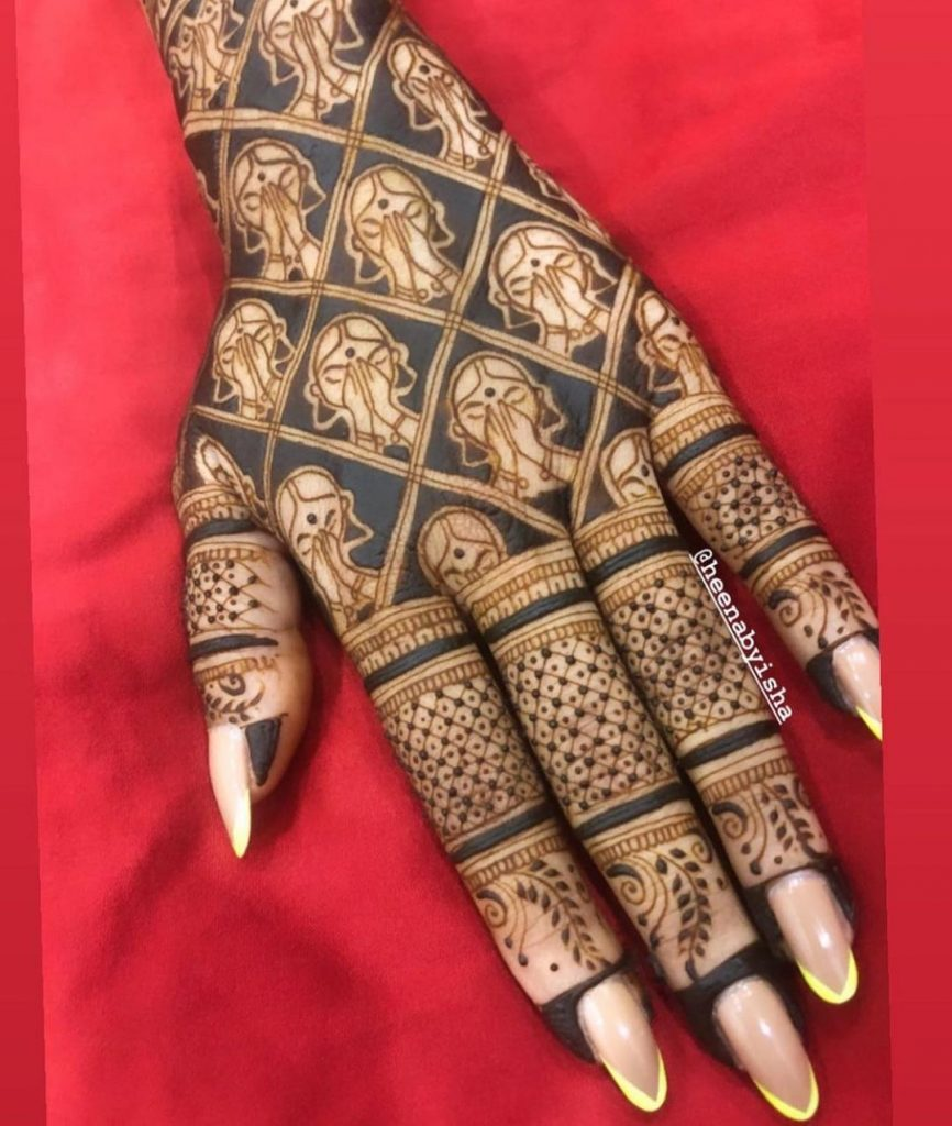 trendsetter bridal mehndi designs 2021