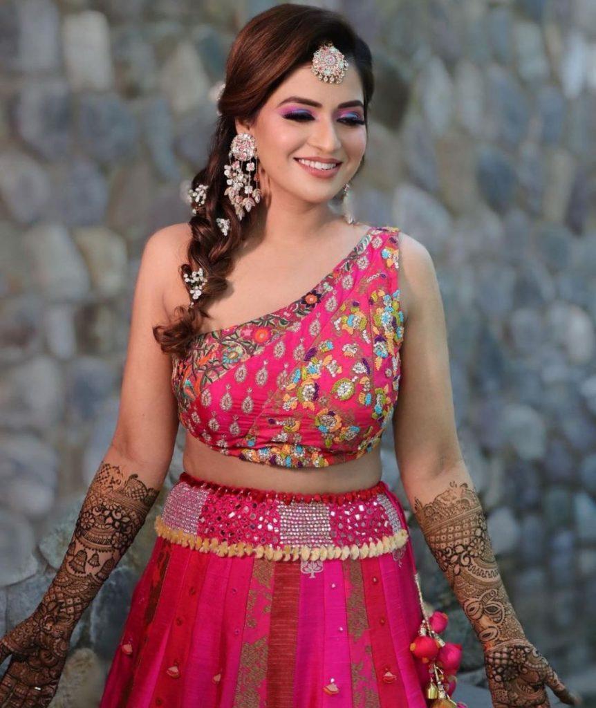 Mehndi Blouse designs