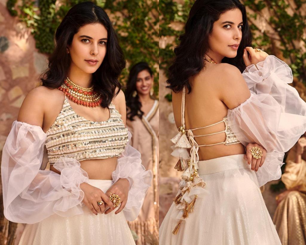 Indo-western blouse design