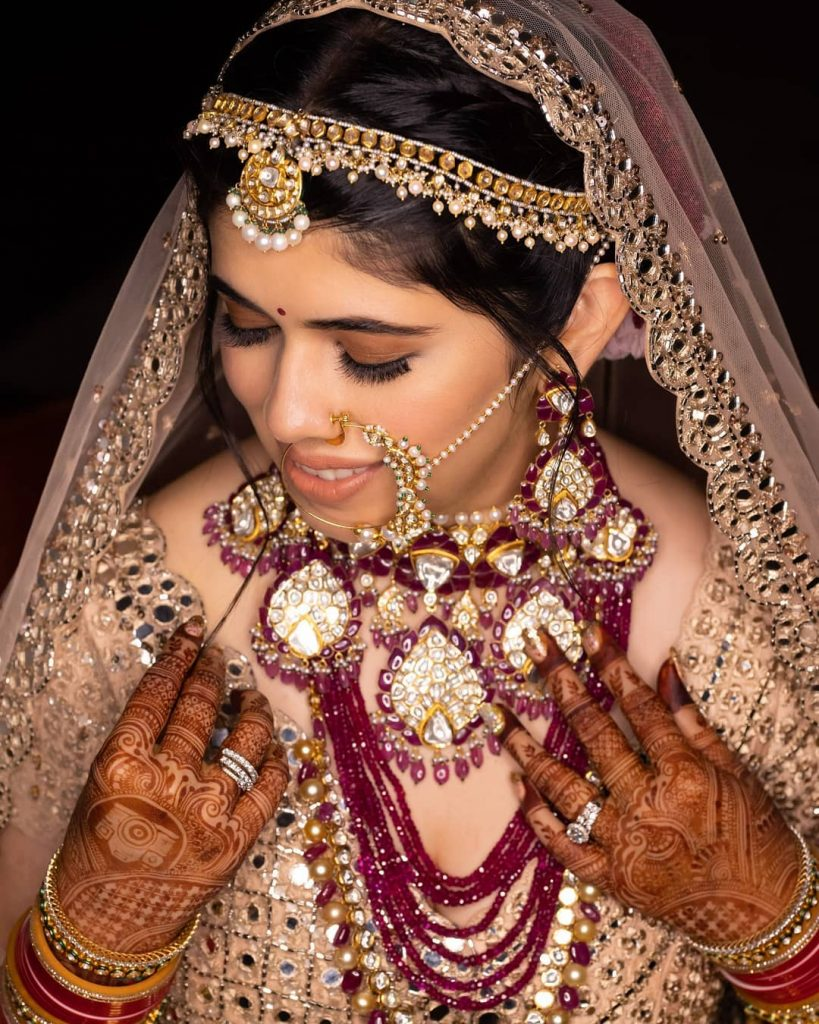 Megha Israni bridal jewellery
