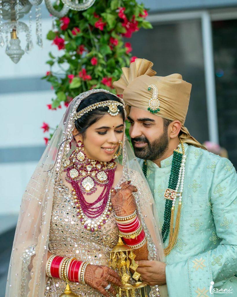 Bride & groom - Israni Photography