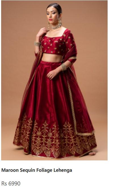 Best Bridal Wear Lehenga Online