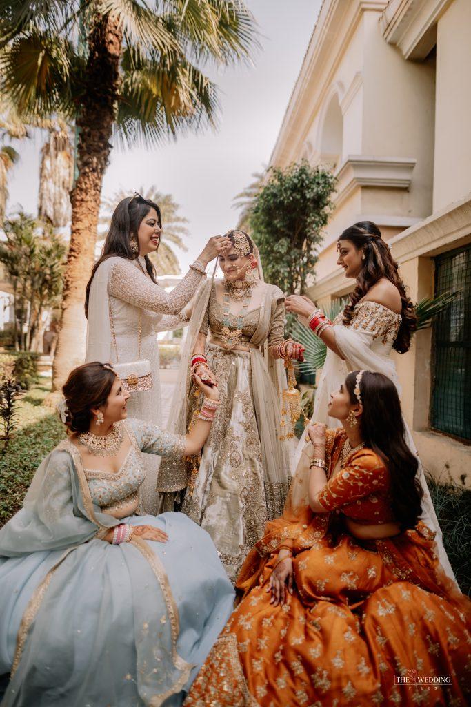 Indian bridesmaids shoot