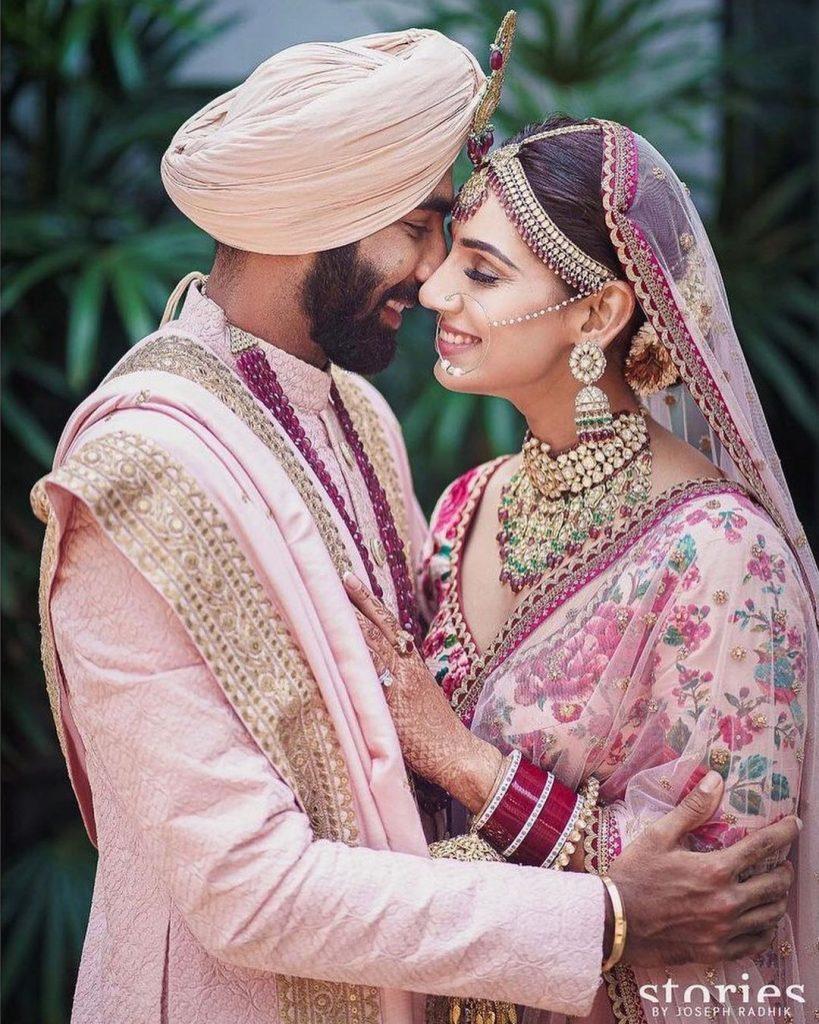 Jasprit Bumrah & Sanjana Ganesan wedding photos