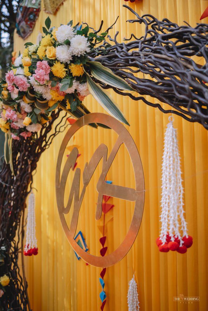 Floral Mehendi Decoration