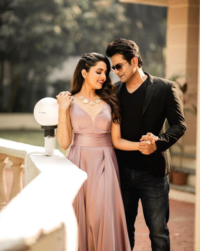 Sugandha Mishra & Sanket Bhosle pre-wedding shoot