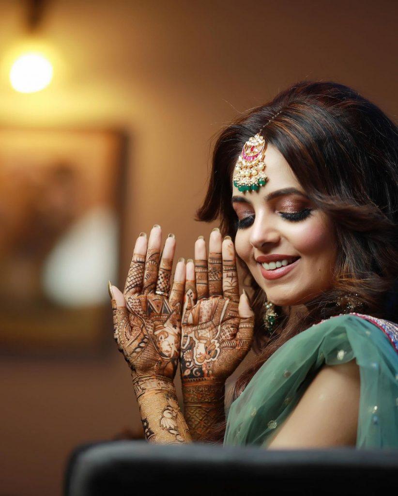 Comedy star Sugandha Mishra mehndi