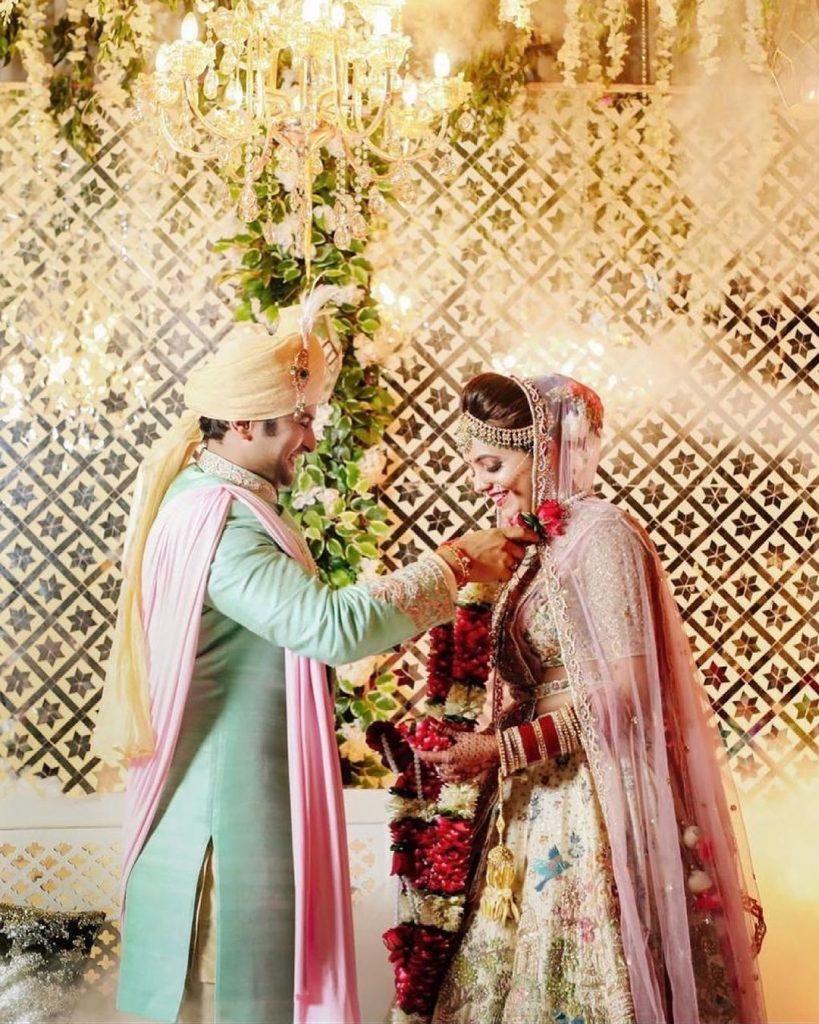 Sugandha Mishra & Sanket Bhosle wedding