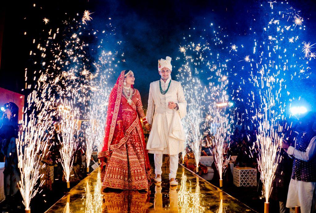 Indian Bride & Groom Royal Entry