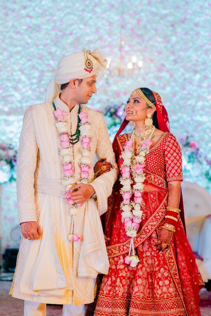 Sabyasachi bride & groom