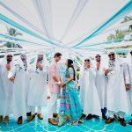 Dubai Themed Mehendi ceremony