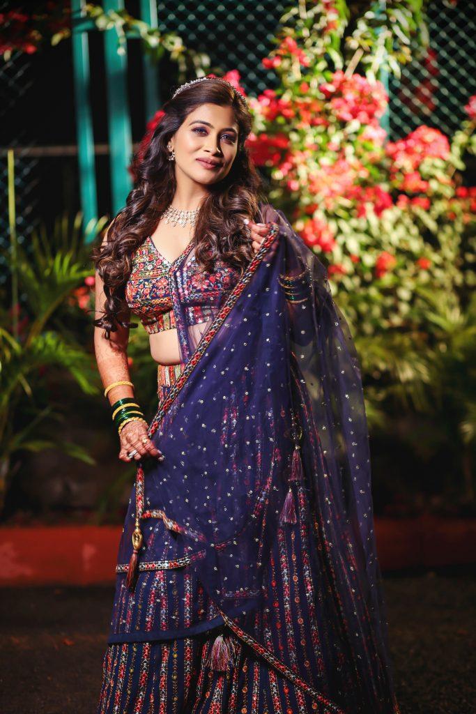 Actress Ruchita Jadhav Sangeet Photo