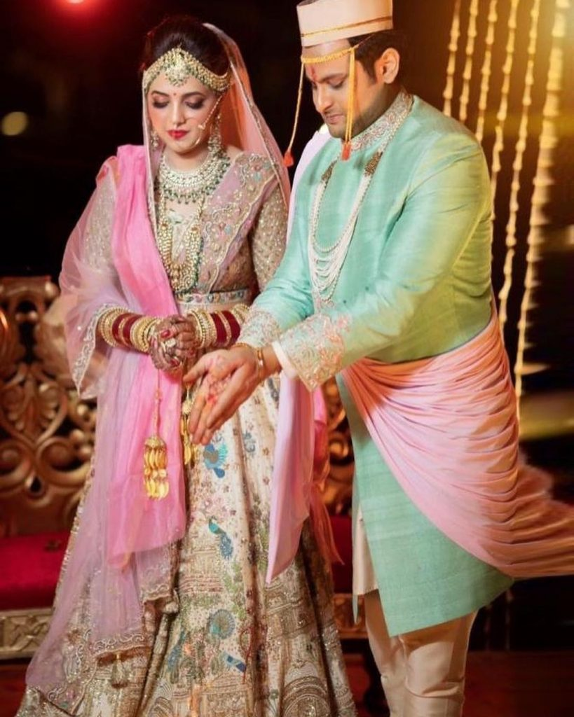 Comedy Stars Sugandha & Sanket marriage