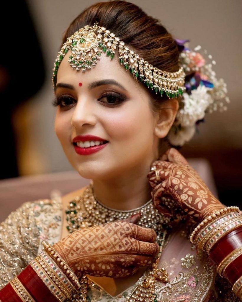 Sugandha Mishra Bridal look