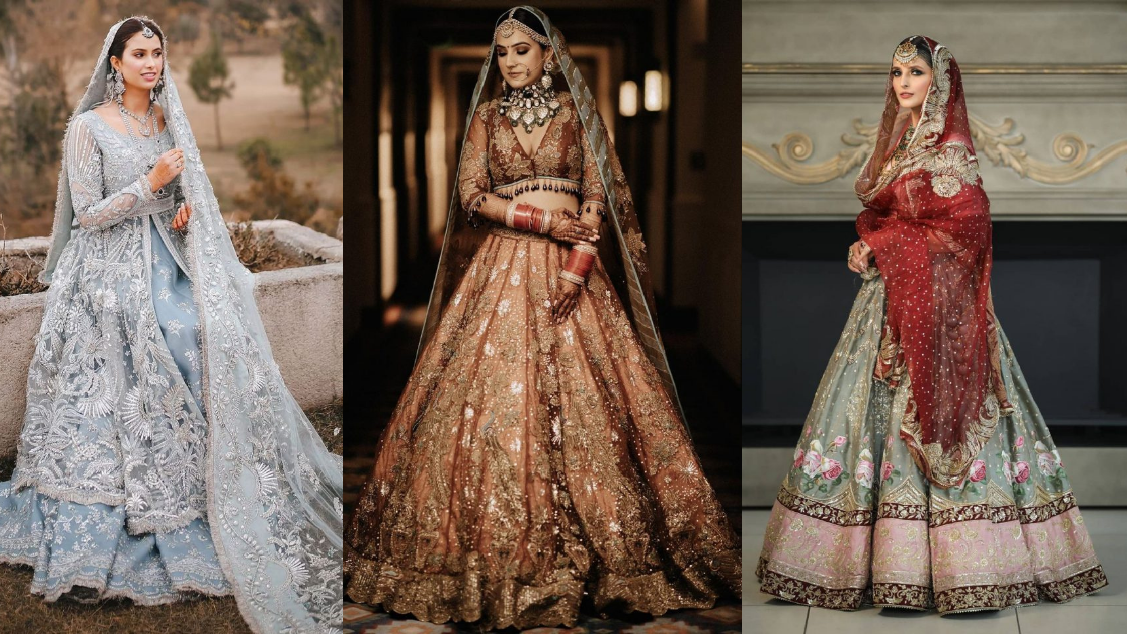 latest 2021 wedding lehenga trends
