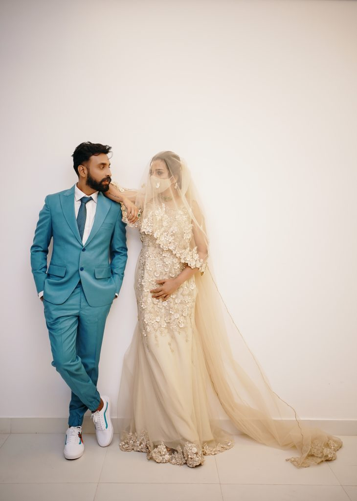 Telugu bride & groom