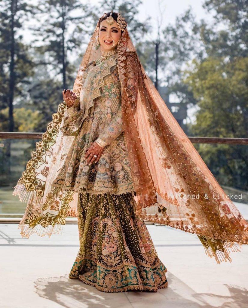 Wedding Sharara Look