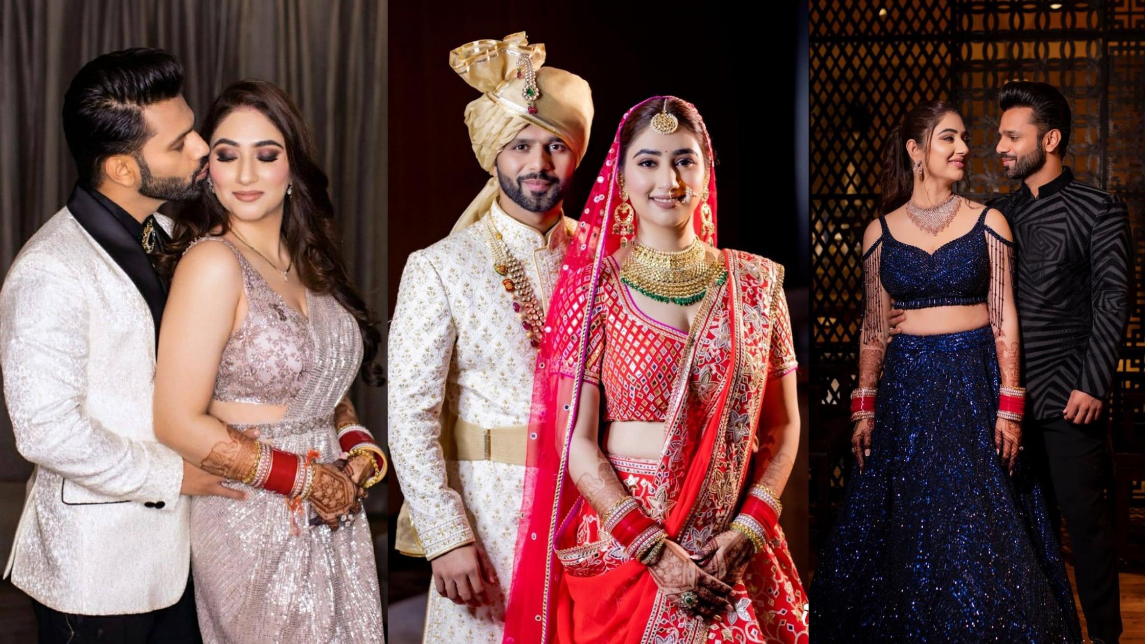 Rahul Vaidya & Disha Parmar wedding