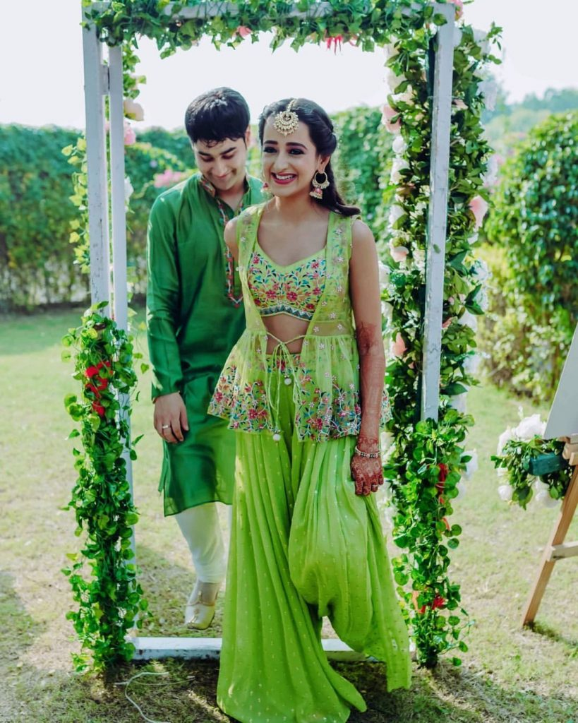 Mehendi Sharara Lookbook
