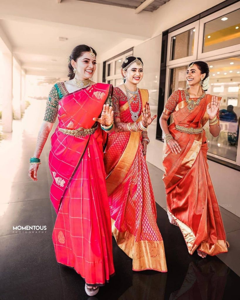 Indian bridesmaids Pose Ideas