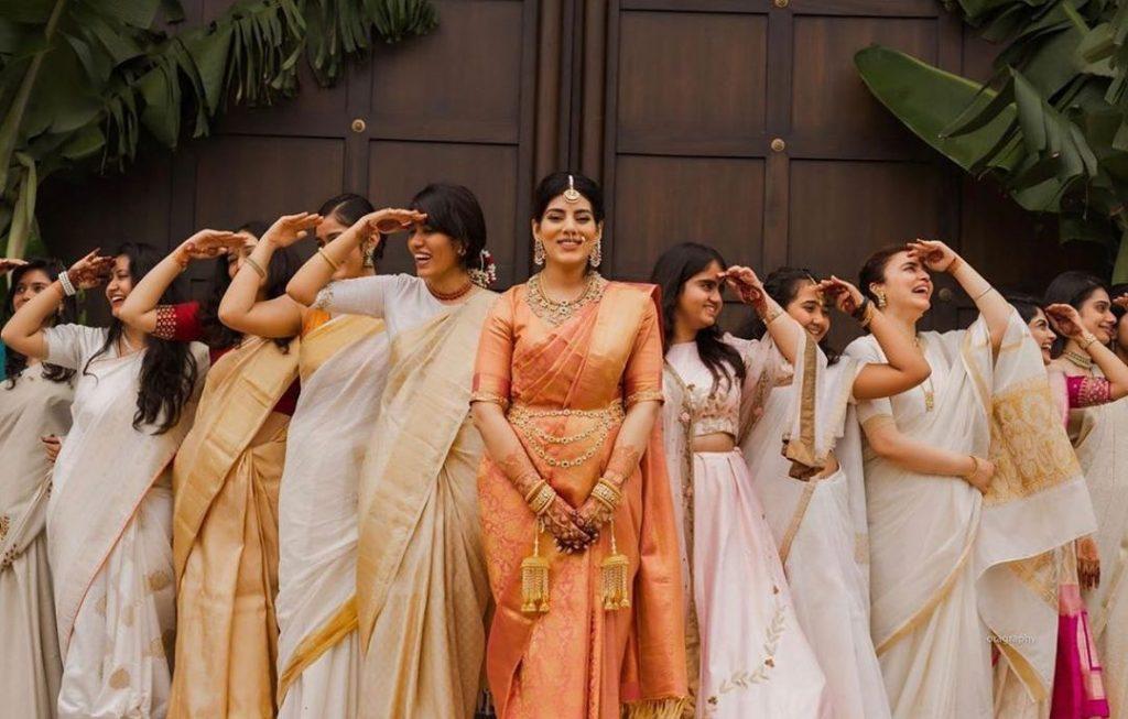 Indian bridesmaids photoshoot ideas
