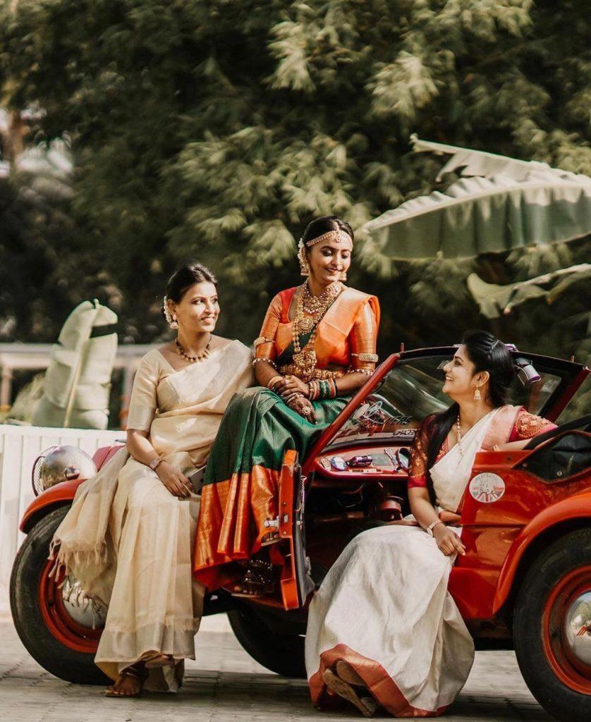bride tribe photoshoot ideas